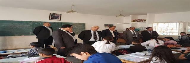 مدير الأكاديمية في زيارة تفقدية لمدرسة عمرو بن العاص بحي ويسلان بمكناس
