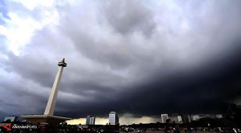 Jakarta Hari Ini Diprediksi Bakal Diguyur Hujan