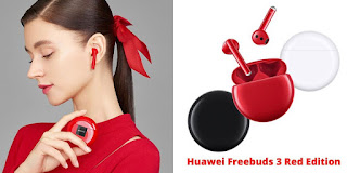 Huawei Freebuds 3 Red edition thewearify - The Huawei's Freebuds 3 Is Here | For Your Valentines | The Red Edition hands-on & Impressions