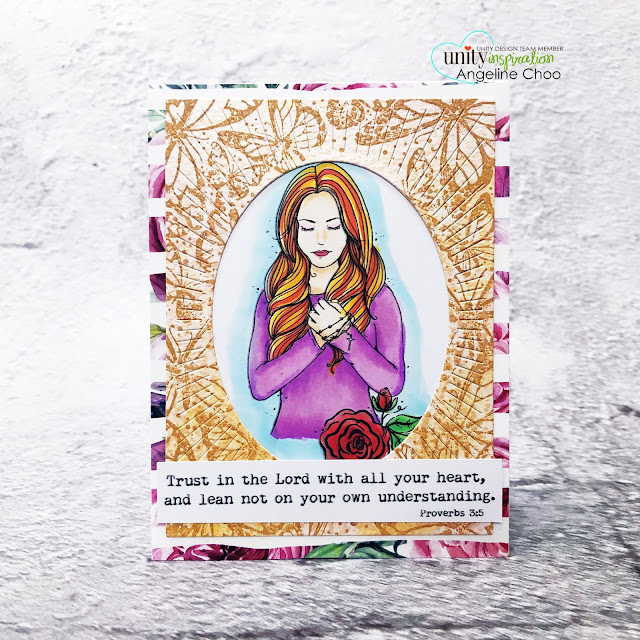 ScrappyScrappy: Unity Stamp Ornament Builders and Holiday inspired - Spotlight Focal card #scrappyscrappy #unitystampco #quicktipvideo #youtube #cardmaking #card #stamp #papercraft #youareablessing #migrationofbeauty #borderbackgroundstamp #biblejournaling #biblestamp #bibleverse #biblecard #averyelle #ovalburstdie #gracielliedesign #pinkandbluewatercolored #unitystamppaper #primacolorbloomspraymist #copicmarkers