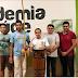 Prefeito Evandro Maia entrega instrumentos de capoeira aos jovens do SCFV de Belém do Brejo do Cruz