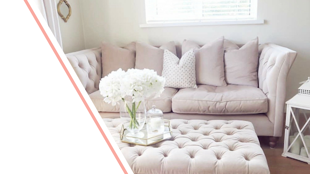 Inspirational living rooms from interior bloggers on Instagram