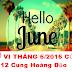 Xem Tử Vi Tháng 6/2016 Của 12 Cung Hoàng Đạo