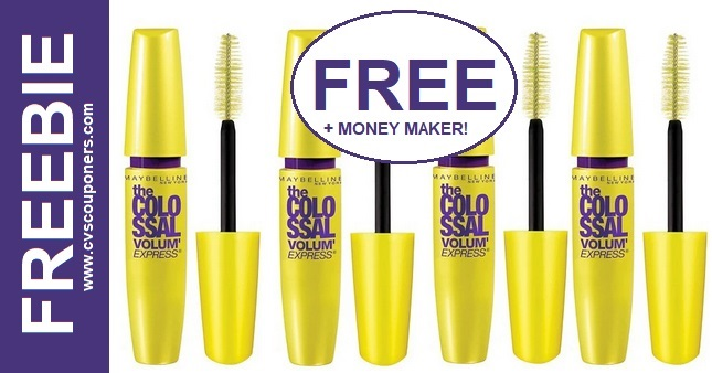 FREE Maybelline Colossal Mascara at CVS 4-26-5-2