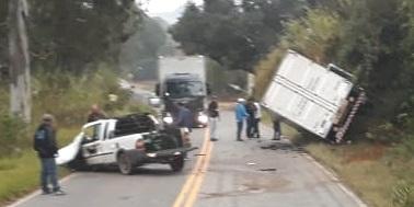 Motorista morre em acidente na rodovia que liga Lambari a Heliodora-MG - Alô Alô Cidade