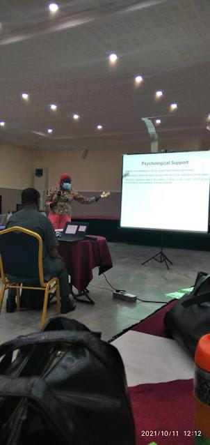 Dr. Atana Ewa, Focal Person and Paediatric ART/ PMTCT, University of Calabar Teaching Hospital, Cross River State