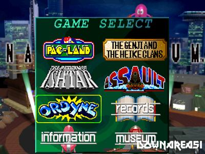 Namco Museum Vol 4 PS1 ISO - Download Game PS1 PSP Roms Isos