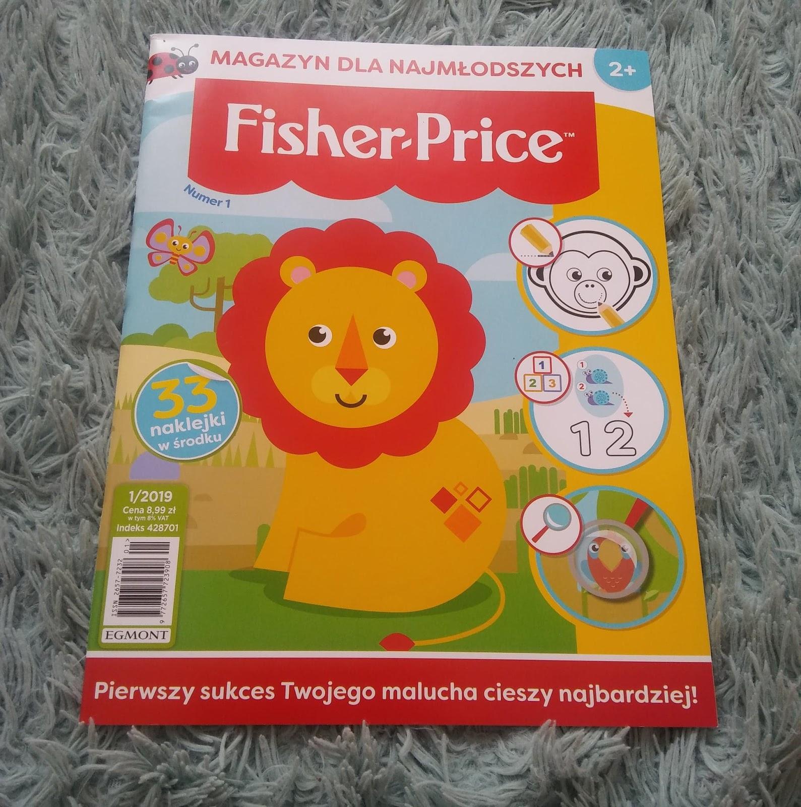 Magazyn dla najmłodszych Fisher-Price od EGMONT