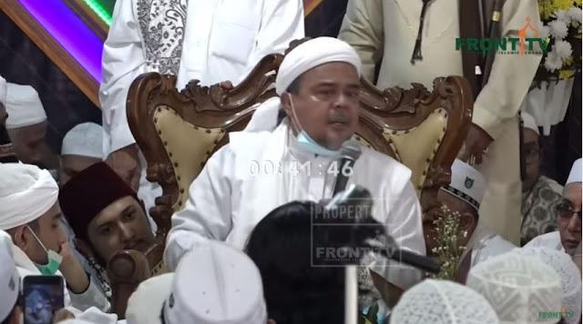 Habib Rizieq Bukan Kurang Sehat, Cuma Butuh Istirahat
