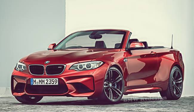 2017 BMW M2 Convertible Rendering