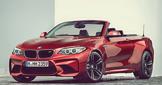 2017 bmw m2 convertible rendering bmw redesign. Black Bedroom Furniture Sets. Home Design Ideas