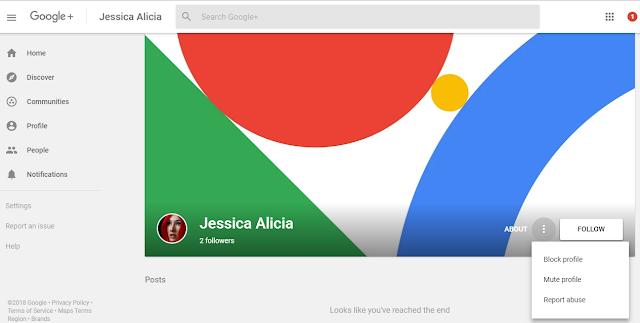 Bagaimana untuk Block seseorang di Google Plus