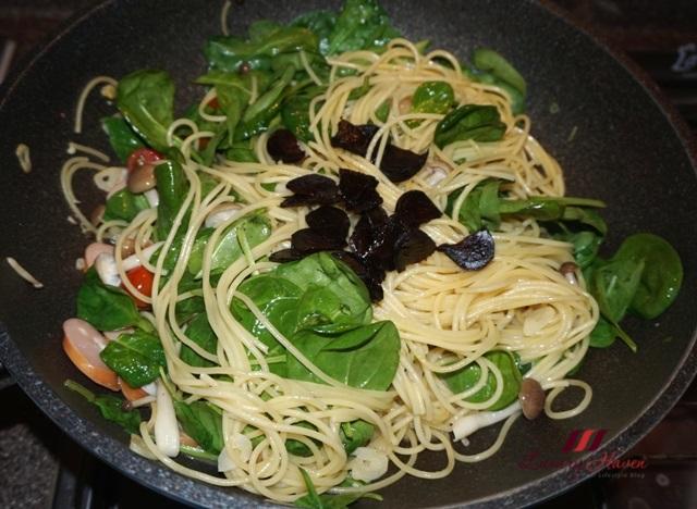 foglia sublime altamura baby spinach pasta