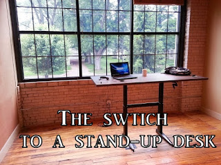 Switching to a Stand-Up Desk