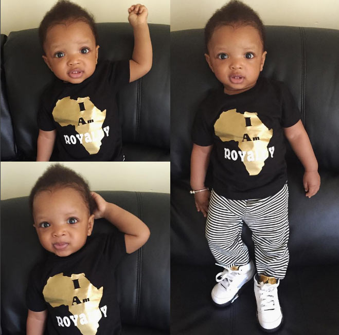 Have you seen these new photos of Wizkid's second son?
