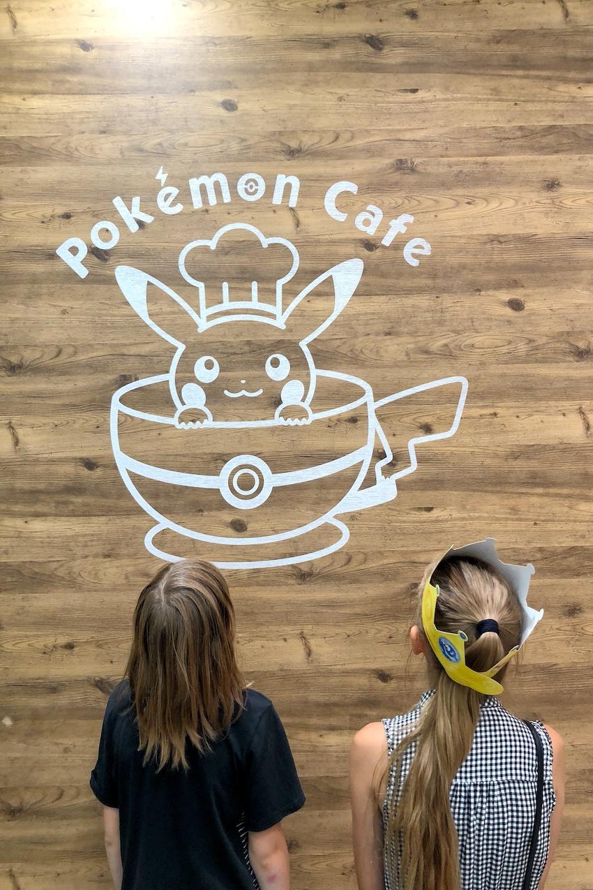 Pokemon Cafe Tokyo Kinder