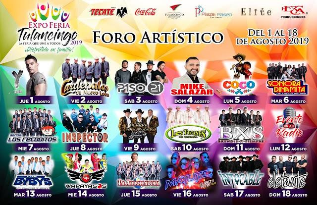 foro artístico feria tulancingo 2019
