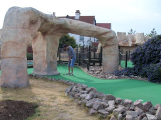 Fantasia Adventure Golf course on Sea Road in Felixstowe, Suffolk