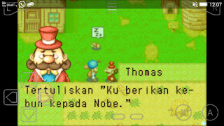 Harvest Moon Friends Mineral Town Bahasa Indonesia GBA ROM