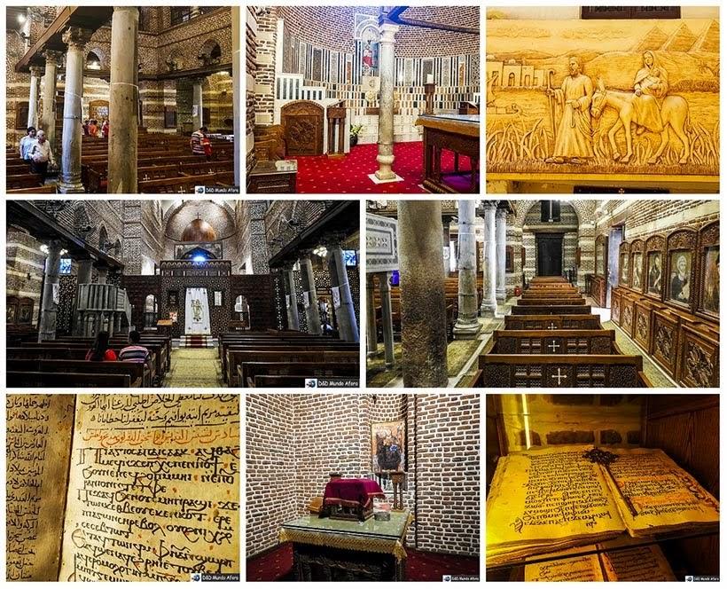 Igreja dos Santos Sérgio e Baco no Cairo Copta - O que fazer no Cairo, Egito