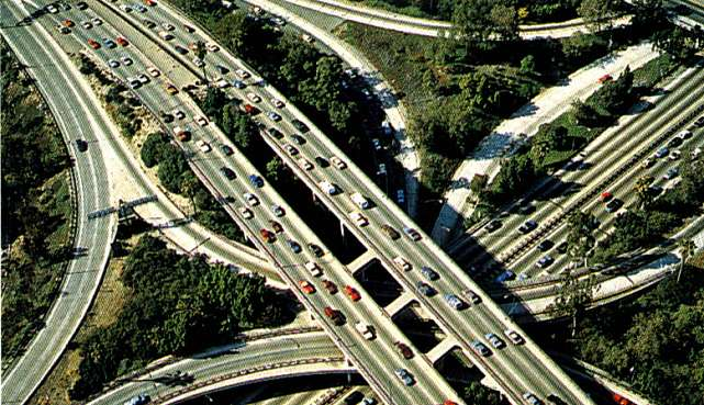 Traffic Transportation Engineering : Road intersection type of highway