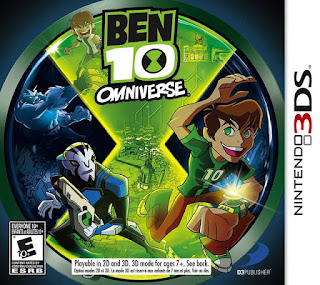 Free Download Ben 10 Omniverse 3DS CIA USA