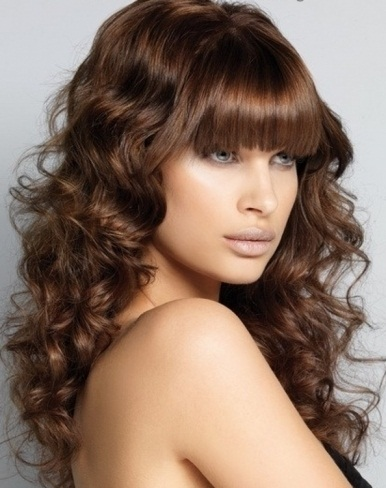 chic big curls long hair style 2014 long hairstyles 2014