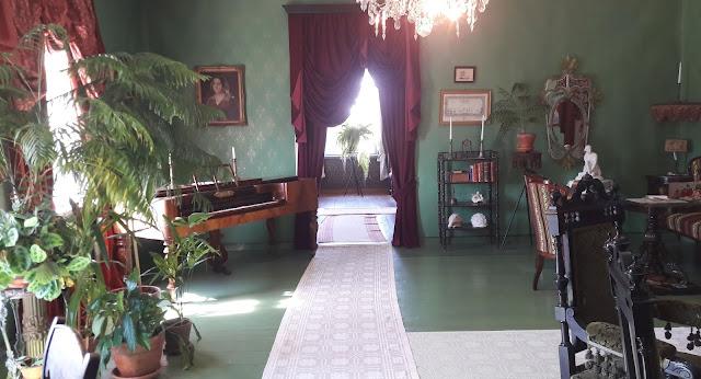 Vihreät seinät Soveliuksen talo Raahe