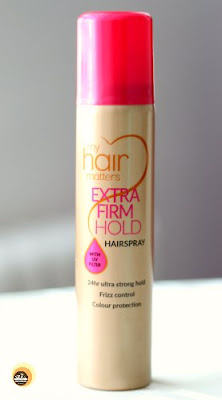 Sainsbury My Hair Matters Extra Firm Hold Hair Spray Details On Natural Beauty And Makeup Blog