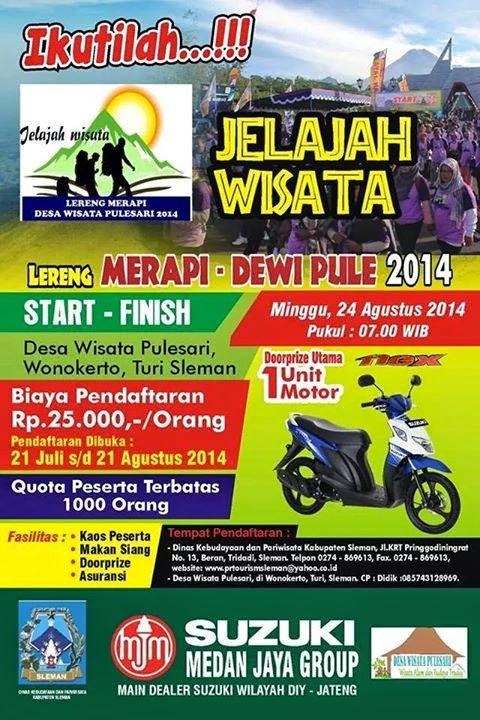 JELAJAH WISATA LERENG MERAPI 2014 | PAKET WISATA LIBURAN ...