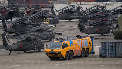 Army helicopters deployment Netherlands