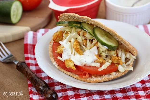Kebab Dietetyczny Zdrowe Przepisy Pauliny Styś