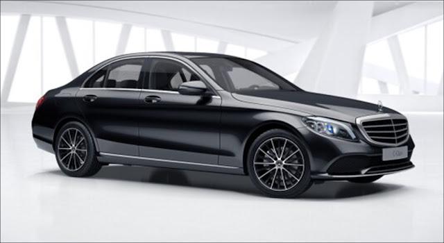 Thiết kế ngoại thất Mercedes C200 Exclusive 2019