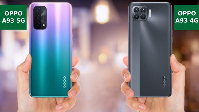 Perbedaan Oppo A93 5G dan A93 4G 2020