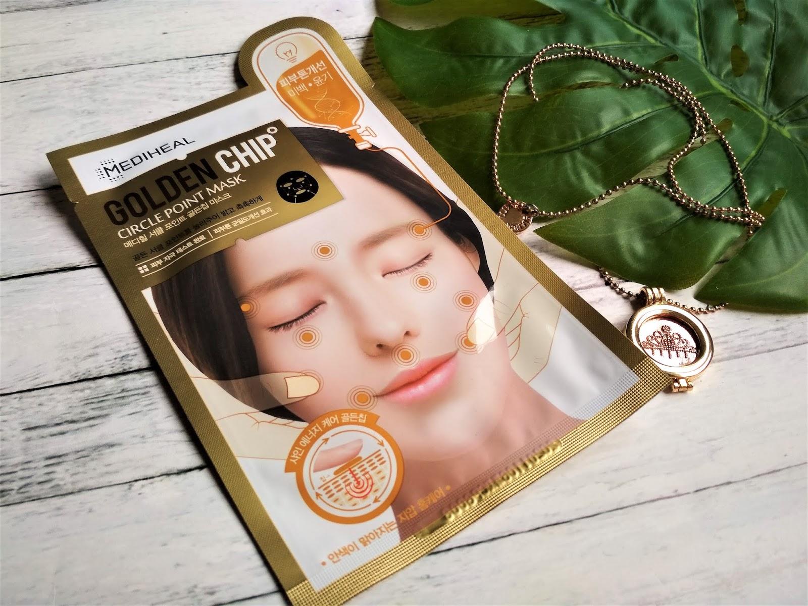 Mediheal Golden Chip Maska rozjaśniająca