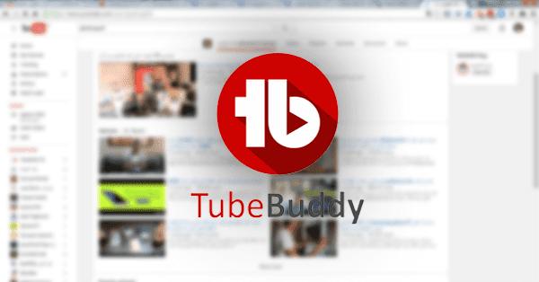 اضافة tubebuddy للمتصفح لادارة قناتك على اليوتيوب وتطويرها للحصول على مشاهدات عالية وزيادة المشتركين وعرض تحليل تفصيلي للقناة