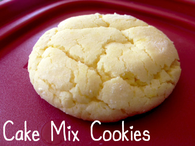 Using Yellow Cake Mix For Cookies