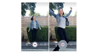 Filter Rewind di Instagram Stories