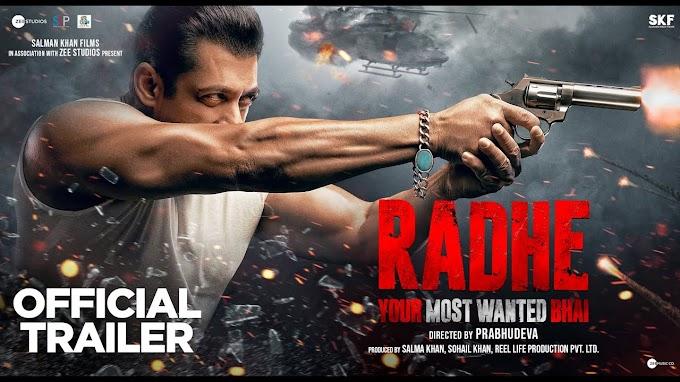 Radhe Full Movie Download In Hindi Filmyzilla,Filmywap,Tamilrockers