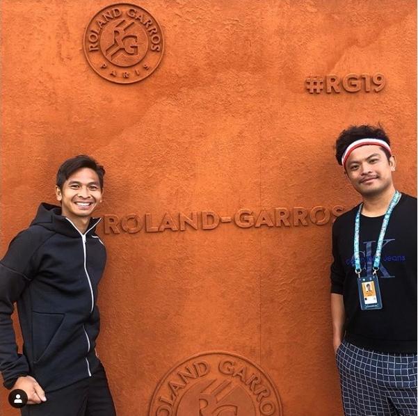 Christopher Rungkat/Hsieh Cheng Peng Jejakkan Kaki ke Babak 2 Grand Slam Prancis Terbuka