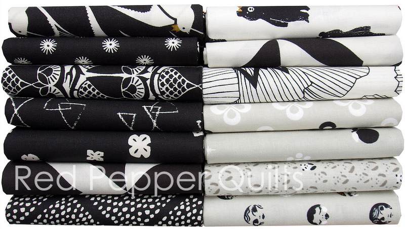 Black and White 2 by Cotton + Steel | Red Pepper Quilts 2016