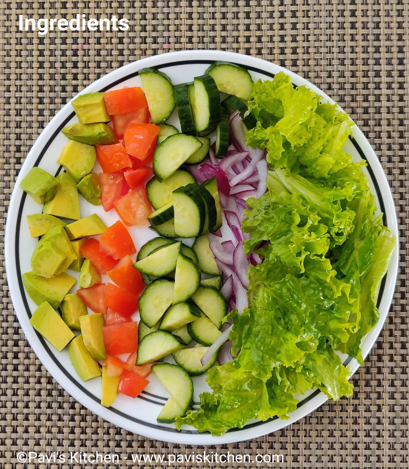 Lettuce Salad Recipe Indian Lettuce Salad Green Salad Recipes