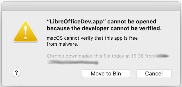 macos-libreoffice-gimp-segurança-catalina-monaje-mac-apple-mackbook-gatekeeper