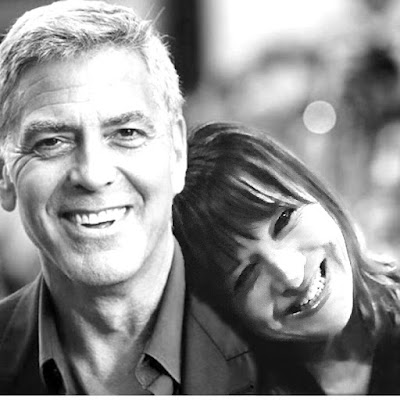 Me and George Clooney badly doctored photo