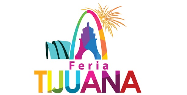 Texto de Feria Tijuana en Logotipo a Colores