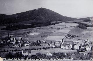 Chełmiec (pocztówka z lat 1910-1914). [Public Domain]