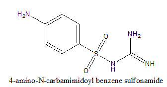 4-amino-N-carbamimidoyl benzene sulfonamide
