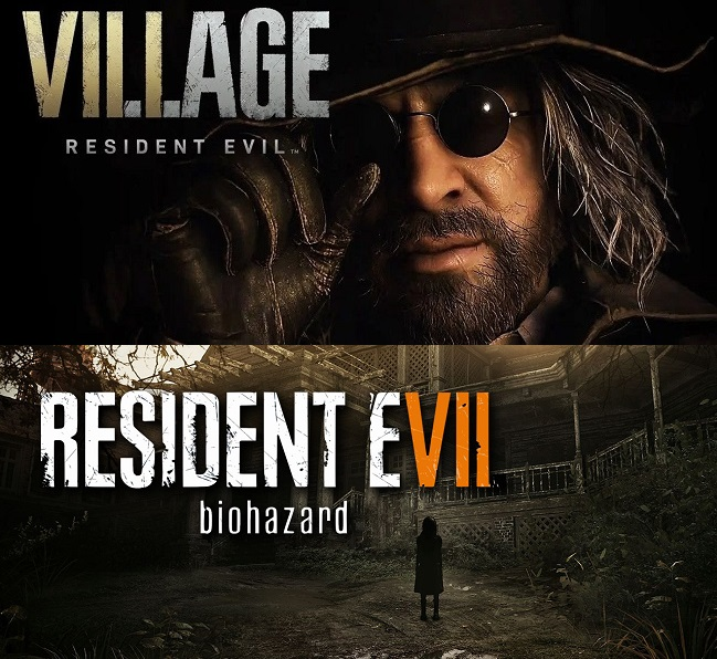 Comparison of Resident Evil 8 Village vs Resident Evil 7