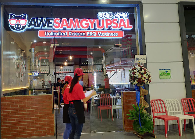 AWESAMGYUPSAL OPENS AT SM CITY SAN JOSE DEL MONTE