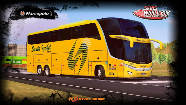 PARADISO G7 1600 LD - VIAÇÃO SANTA IZABEL TURISMO